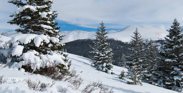 Photograph - Hoosier Pass Winter Panorama by Cascade Colors
