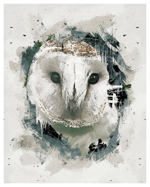 Wall Art - Mixed Media - Hoot by Melissa Smith