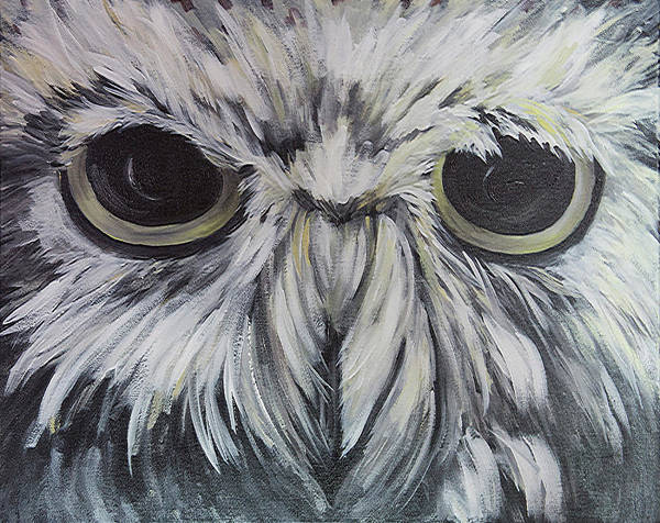 Painting - Hoot by Sally Quillin