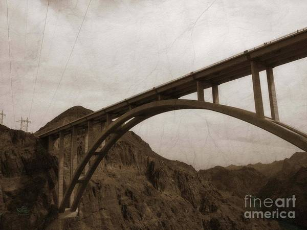 Photograph - Hoover Dam Bridge by Beauty For God