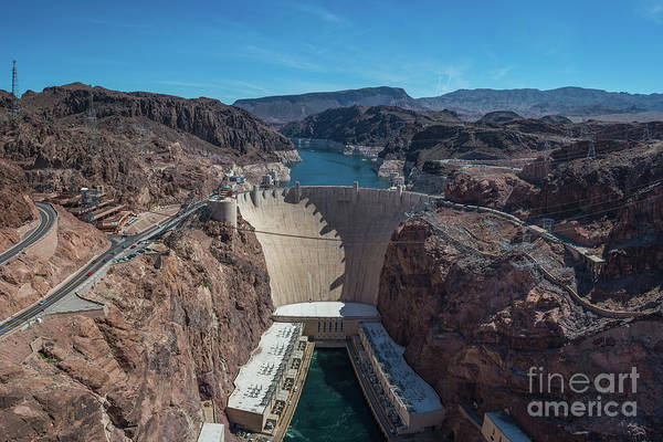 Photograph - Hoover Dam by Michael Ver Sprill