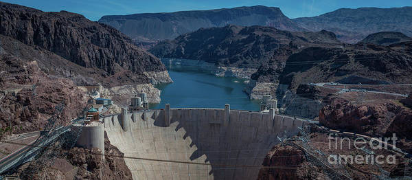 Photograph - Hoover Dam Panorama by Michael Ver Sprill
