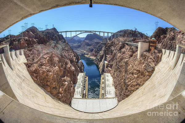 Photograph - Hoover Dam by Spencer Baugh