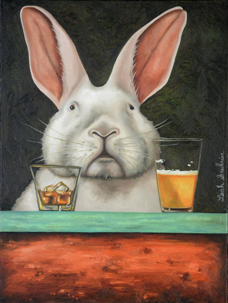 Painting - Hop Scotch by Leah Saulnier The Painting Maniac