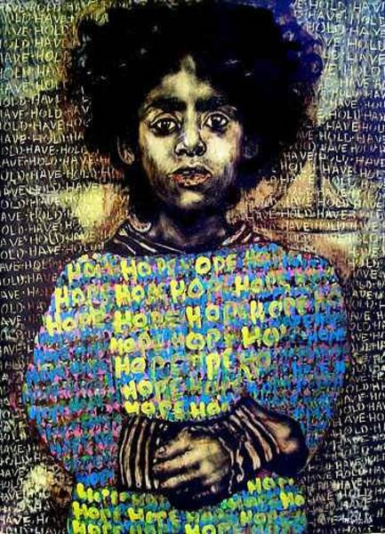 Chester Mixed Media - Hope by Chester Elmore