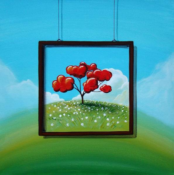 Window Painting - Hope by Cindy Thornton