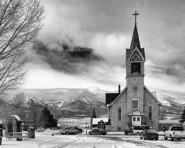 Westcliffe Photograph - Hope Evangelical Lutheran Church by John Bartelt