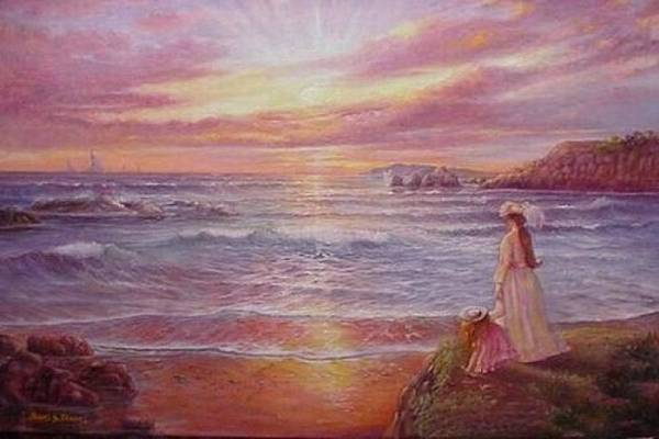 Art Print featuring the painting Hope by Naomi Dixon