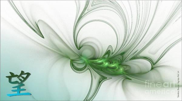 Digital Art - Hope by Sandra Bauser Digital Art