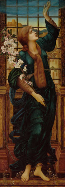 Wall Art - Painting - Hope by Sir Edward Coley Burne-Jones