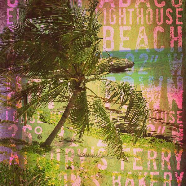 Town Square Digital Art - Hope Town Bahamas V1 by Brandi Fitzgerald