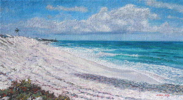 Painting - Hope Town Beach by Ritchie Eyma