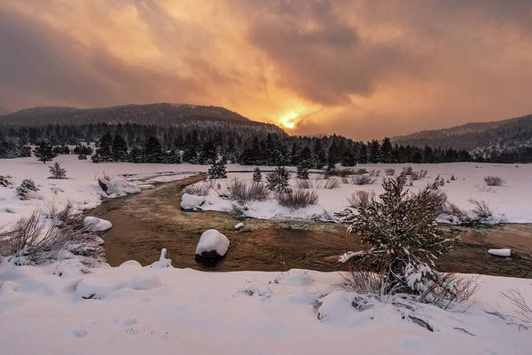 Wall Art - Photograph - Hopeful Spring Carson River Sunrise by Mike Herron