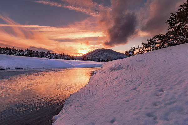 Lightroom Photograph - Hopeful Winter High Valley Sunset by Mike Herron