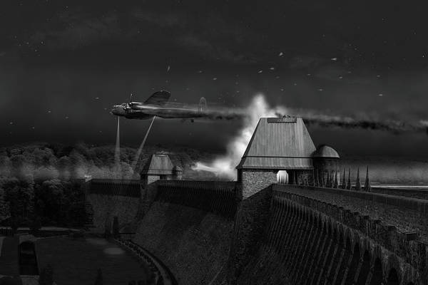 Digital Art - Hopgood's Last Run Black And White Version by Gary Eason