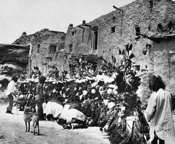 Photograph - Hopi Ceremony C1913 by Granger