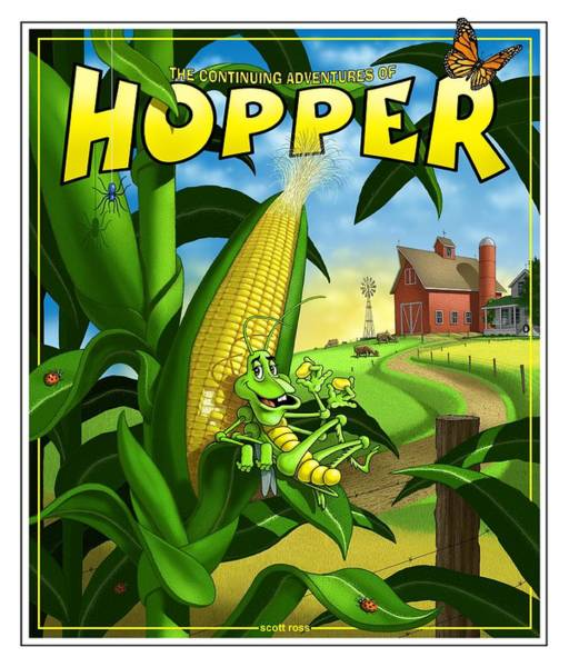 Digital Art - Hopper by Scott Ross