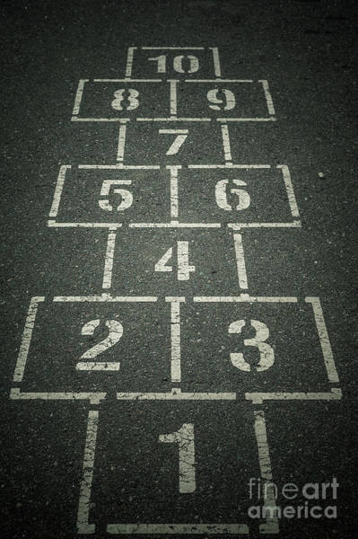 Wall Art - Photograph - Hopscotch Anyone? by Chellie Bock