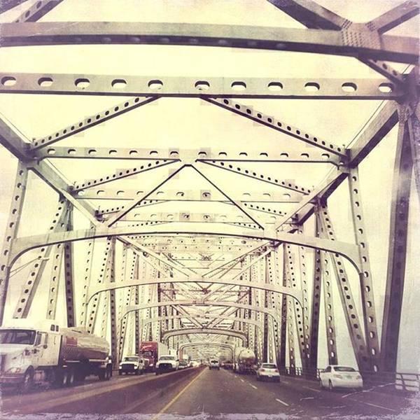 Wall Art - Photograph - Horace Wilkinson Bridge #msriverbridge by Joan McCool