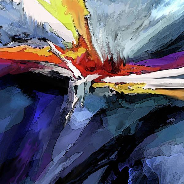 Digital Art - Horizon by Jean Batzell Fitzgerald