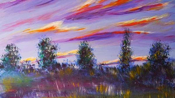 Painting - Horizon by Joy of Life Art Gallery