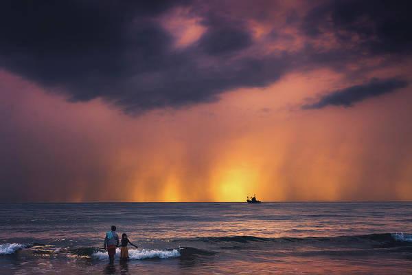 Photograph - Horizon by Marji Lang