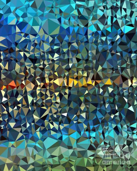 Digital Art - Horizon by Rob Mandell
