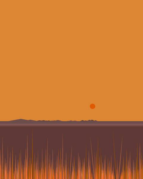 Digital Art - Horizon by Val Arie