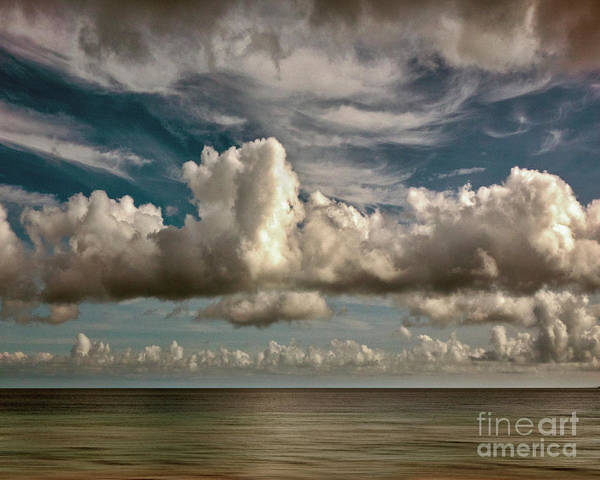 Photograph - Horizontal Departure by Edmund Nagele