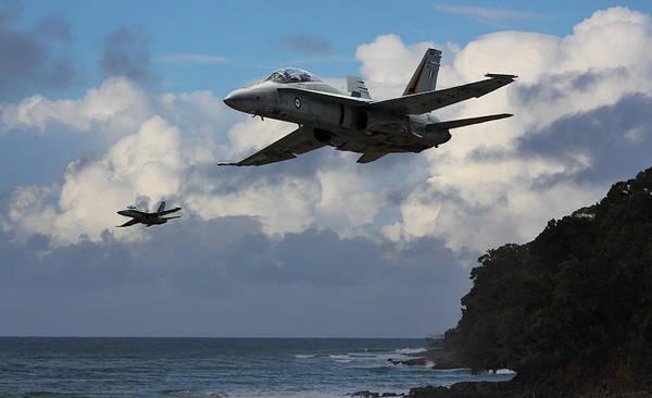 A-18 Hornet Wall Art - Digital Art - Hornets Nest by Mark Donoghue