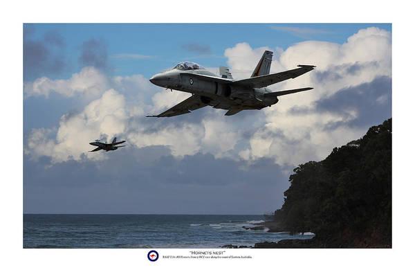A-18 Hornet Wall Art - Digital Art - Hornets Nest - Titled by Mark Donoghue