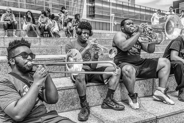 Photograph - Horns In Detroit by John McGraw