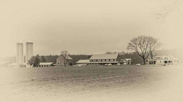 Photograph - Hornstra Farm Antique Look by Brian MacLean