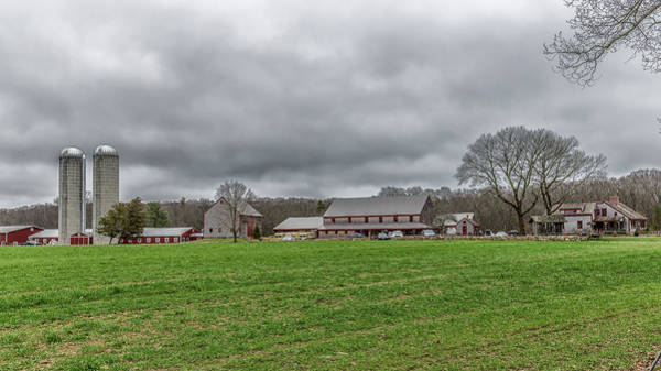 Photograph - Hornstra Farm Norwell Massachusetts by Brian MacLean