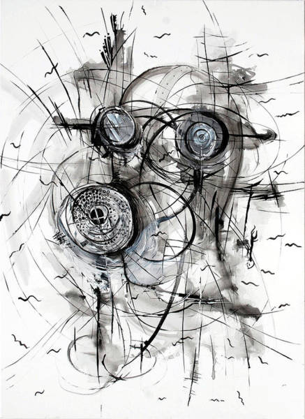 Desolation Painting - Horror Of War And Hatred by Georgi Charaka