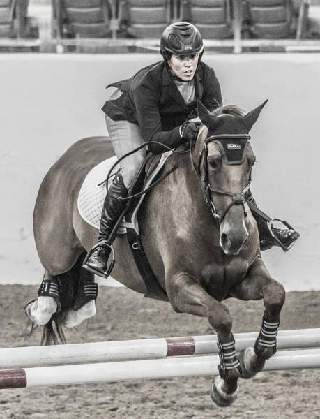 Wall Art - Photograph - Horse And Rider by Betsy Knapp
