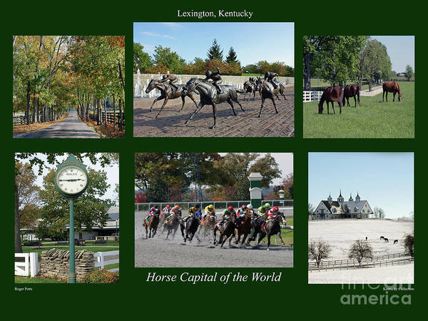 Bluegrass Photograph - Horse Capital Of The World by Roger Potts