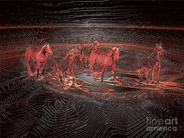 Digital Art - Horse Chestnut Pass by Lance Sheridan-Peel