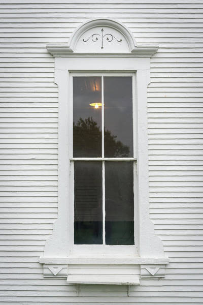 Photograph - Horse Farm Window by Guy Whiteley