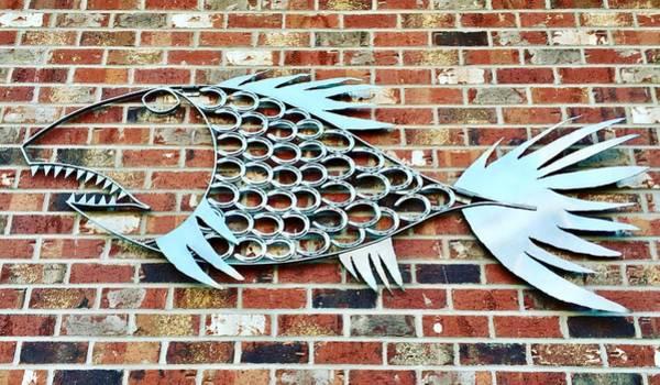 Fish Shoe  Art Print