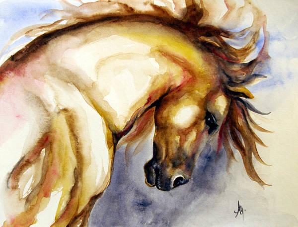 Wall Art - Painting - Horse Head 2 by Leyla Munteanu