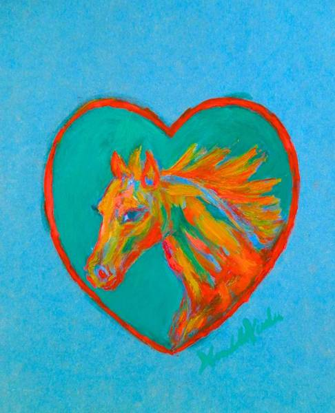 Painting - Horse Heart by Kendall Kessler