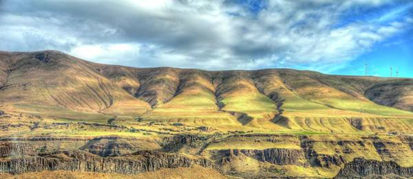Photograph - Horse Heaven Hills by Jerry Sodorff