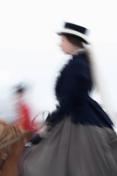Photograph - Horse Hunt #8330 by Andrey Godyaykin