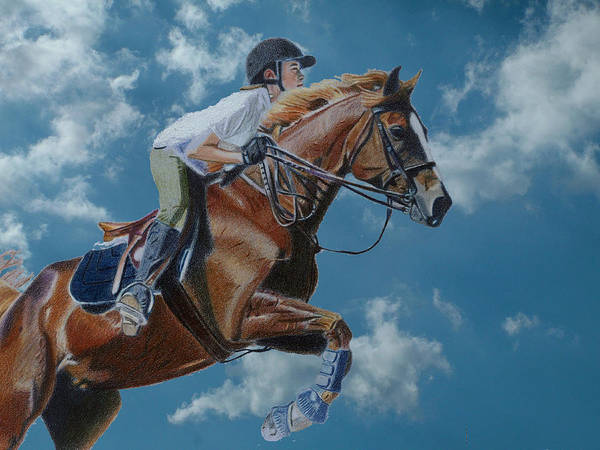 Painting - Horse Jumper by Patricia Barmatz