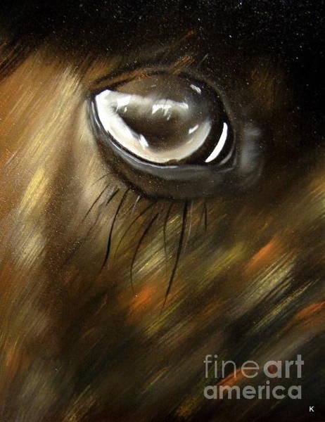 Anglin Wall Art - Painting - Horse by Kalib Anglin