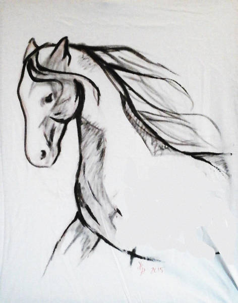 Painting - Horse by Loretta Nash