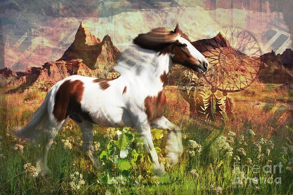 Horse Medicine 2015 Art Print