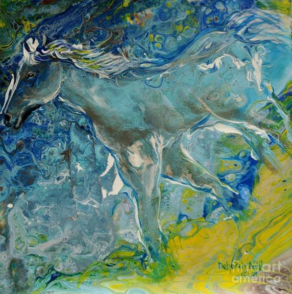 Painting - Horse Of A Different Color by Deborah Nell