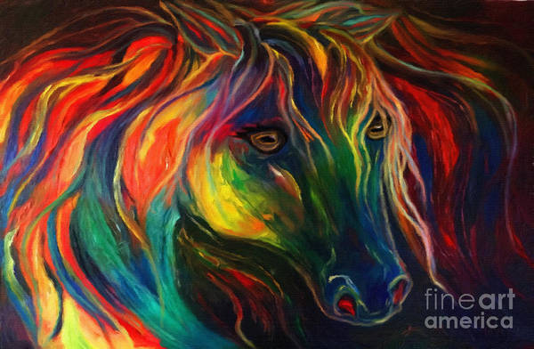 Painting - Horse Of Hope by Pam Herrick